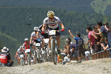 Moritz Milatz at UCI World Cup XCO / XCE / DHI 4 - Vallnord (2013)