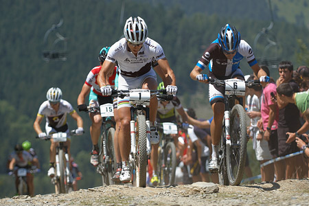 Nino Schurter at UCI World Cup XCO / XCE / DHI 4 - Vallnord (2013)