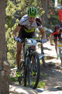 Ondrej Cink at UCI World Cup XCO / XCE / DHI 4 - Vallnord (2013)