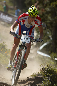 Pavel Priadein at UCI World Cup XCO / XCE / DHI 4 - Vallnord (2013)