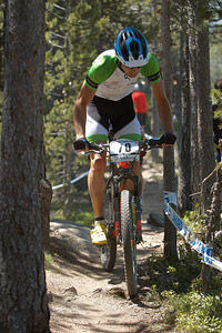 Pierre-Geoffroy Plantet at UCI World Cup XCO / XCE / DHI 4 - Vallnord (2013)