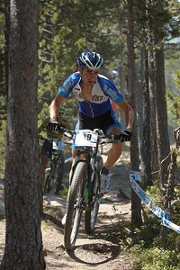 Ramon Sagues Portabella at UCI World Cup XCO / XCE / DHI 4 - Vallnord (2013)