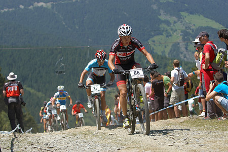 Robby De Bock at UCI World Cup XCO / XCE / DHI 4 - Vallnord (2013)