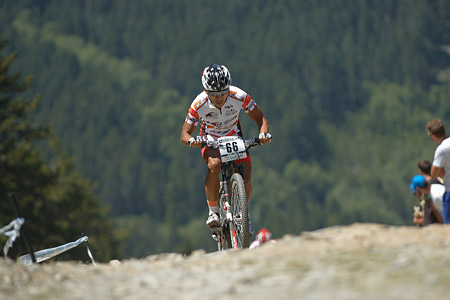 Sang Hoon Na at UCI World Cup XCO / XCE / DHI 4 - Vallnord (2013)