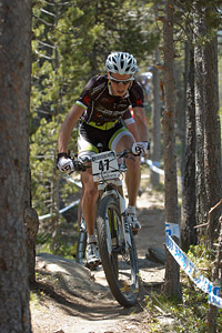 Sebastien Carabin at UCI World Cup XCO / XCE / DHI 4 - Vallnord (2013)