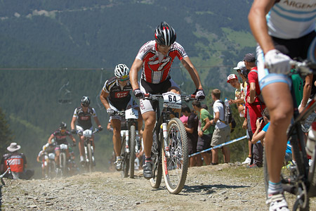Sepp Freiburghaus at UCI World Cup XCO / XCE / DHI 4 - Vallnord (2013)
