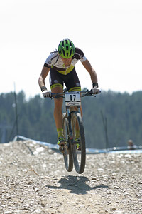 Thomas Litscher at UCI World Cup XCO / XCE / DHI 4 - Vallnord (2013)