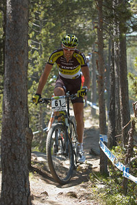 Wolfram Kurschat at UCI World Cup XCO / XCE / DHI 4 - Vallnord (2013)