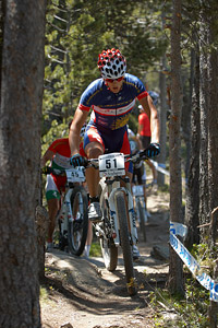 Zsolt Juhasz at UCI World Cup XCO / XCE / DHI 4 - Vallnord (2013)