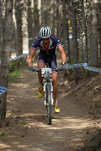 Benoit Jeanniard at UCI World Cup XCO / XCE / DHI 4 - Vallnord (2013)