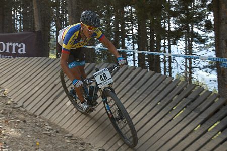 Erick Fierro at UCI World Cup XCO / XCE / DHI 4 - Vallnord (2013)