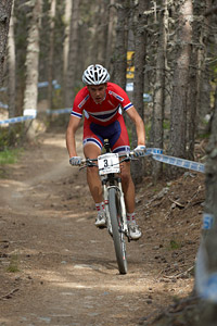 Erik Nordsaeter Resell at UCI World Cup XCO / XCE / DHI 4 - Vallnord (2013)