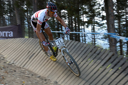 Felix Ritzinger at UCI World Cup XCO / XCE / DHI 4 - Vallnord (2013)