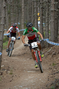 Gioele Bertolini at UCI World Cup XCO / XCE / DHI 4 - Vallnord (2013)