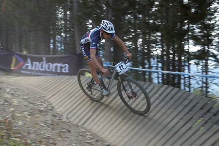 Hugo Pigeon at UCI World Cup XCO / XCE / DHI 4 - Vallnord (2013)