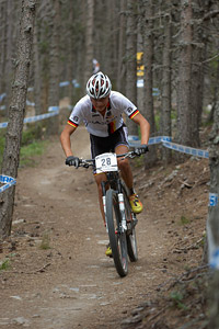 Jakob Hartmann at UCI World Cup XCO / XCE / DHI 4 - Vallnord (2013)