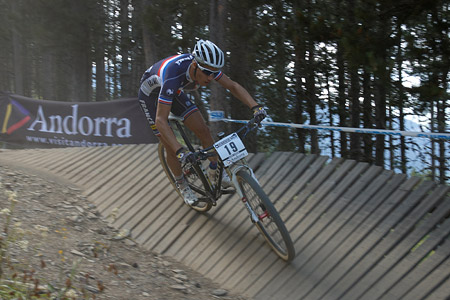 Lucas Dubau at UCI World Cup XCO / XCE / DHI 4 - Vallnord (2013)