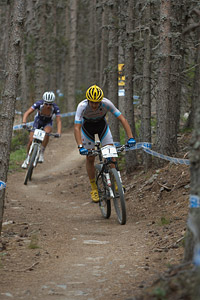 Neilo Perrin-Ganier at UCI World Cup XCO / XCE / DHI 4 - Vallnord (2013)