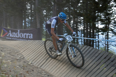 Nicolas Fischer at UCI World Cup XCO / XCE / DHI 4 - Vallnord (2013)