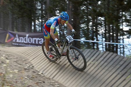 Remy Denervaud at UCI World Cup XCO / XCE / DHI 4 - Vallnord (2013)