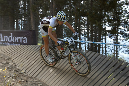 Robin Gemperle at UCI World Cup XCO / XCE / DHI 4 - Vallnord (2013)