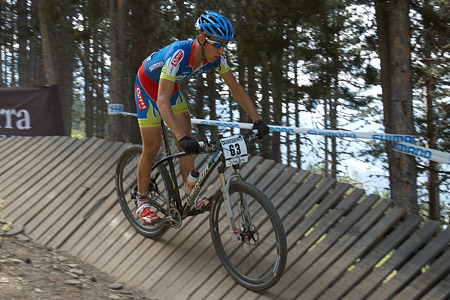 Sandro Trevisani at UCI World Cup XCO / XCE / DHI 4 - Vallnord (2013)