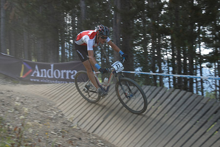 Simon Vitzthum at UCI World Cup XCO / XCE / DHI 4 - Vallnord (2013)