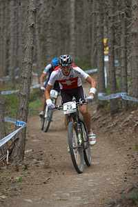 Timothy Mazzuchelli at UCI World Cup XCO / XCE / DHI 4 - Vallnord (2013)