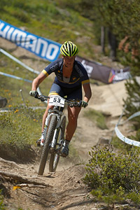 Ann Berglund at UCI World Cup XCO / XCE / DHI 4 - Vallnord (2013)