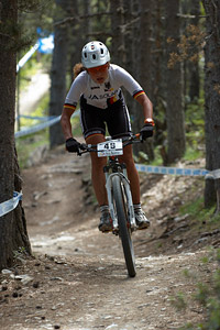 Elisabeth Brandau at UCI World Cup XCO / XCE / DHI 4 - Vallnord (2013)