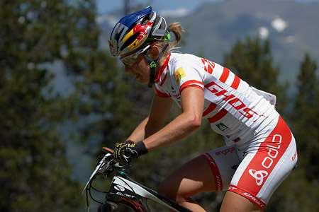 Elisabeth Osl at UCI World Cup XCO / XCE / DHI 4 - Vallnord (2013)