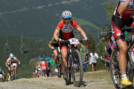 Elisabeth Sveum at UCI World Cup XCO / XCE / DHI 4 - Vallnord (2013)