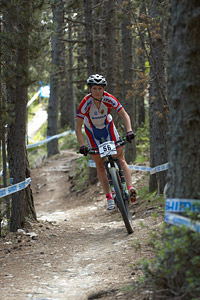 Elvira Khayrullina at UCI World Cup XCO / XCE / DHI 4 - Vallnord (2013)