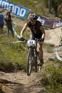 Fanny Bourdon at UCI World Cup XCO / XCE / DHI 4 - Vallnord (2013)