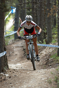 Hanna Klein at UCI World Cup XCO / XCE / DHI 4 - Vallnord (2013)