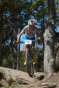 Joana Barbosa at UCI World Cup XCO / XCE / DHI 4 - Vallnord (2013)