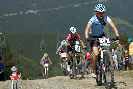 Judy Freeman at UCI World Cup XCO / XCE / DHI 4 - Vallnord (2013)