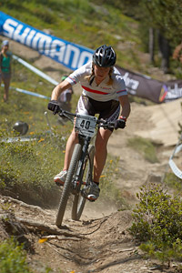 Lee Craigie at UCI World Cup XCO / XCE / DHI 4 - Vallnord (2013)