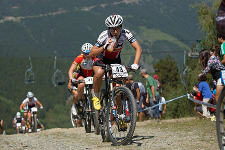 Lucie Chainel-Lefevre at UCI World Cup XCO / XCE / DHI 4 - Vallnord (2013)