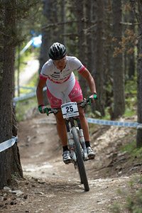 Nathalie Schneitter at UCI World Cup XCO / XCE / DHI 4 - Vallnord (2013)