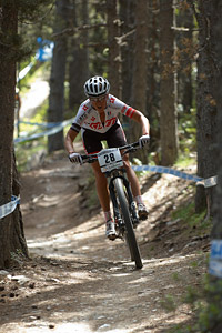 Sabrina Enaux at UCI World Cup XCO / XCE / DHI 4 - Vallnord (2013)