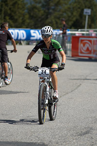Samara Sheppard at UCI World Cup XCO / XCE / DHI 4 - Vallnord (2013)