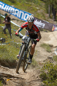 Sandra Santanyes Murillo at UCI World Cup XCO / XCE / DHI 4 - Vallnord (2013)