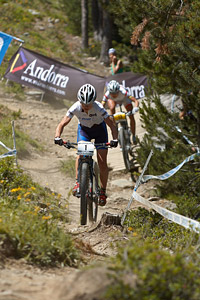 Tanja Zakelj at UCI World Cup XCO / XCE / DHI 4 - Vallnord (2013)