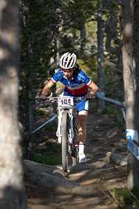 Audrey Menut at UCI World Cup XCO / XCE / DHI 4 - Vallnord (2013)