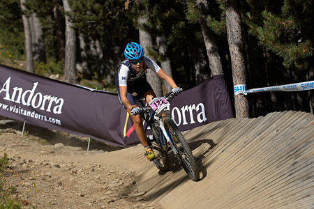 Chantal Eheim at UCI World Cup XCO / XCE / DHI 4 - Vallnord (2013)