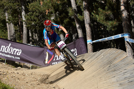 Denisa Bartizalova at UCI World Cup XCO / XCE / DHI 4 - Vallnord (2013)