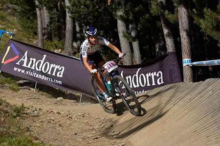 Imogen Buick at UCI World Cup XCO / XCE / DHI 4 - Vallnord (2013)