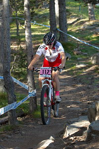 Pauline Pajot at UCI World Cup XCO / XCE / DHI 4 - Vallnord (2013)