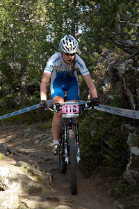 Sophie Von Berswordt-Wallrabe at UCI World Cup XCO / XCE / DHI 4 - Vallnord (2013)